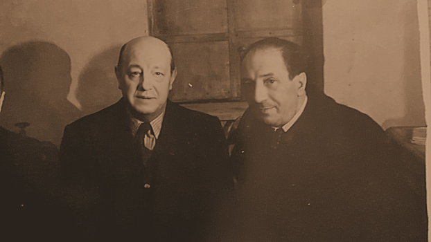 Harry Baur et Jacques Thibaud